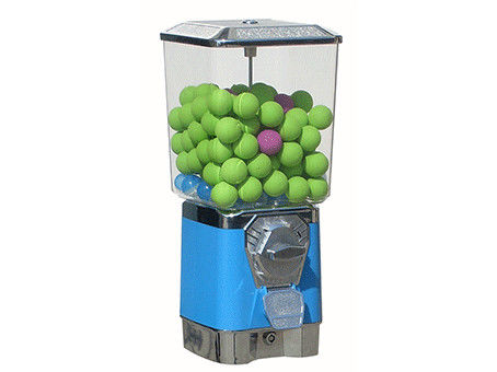 Colorful Gumball Vending Machine , Kids Gumball Machine Small Capacity