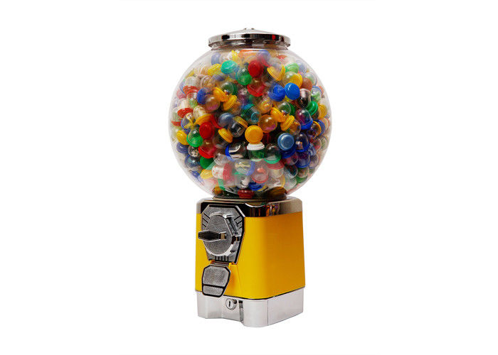 commercial gumball vending machine  PC 45CM yellow metal customize