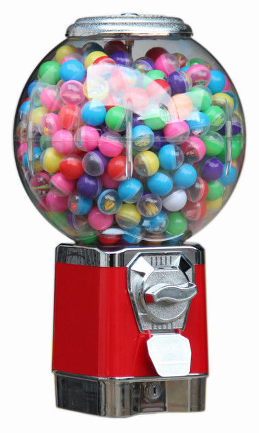 sam's club candy gumball candy vending machine red 50CM 6 coins 1.4 inch